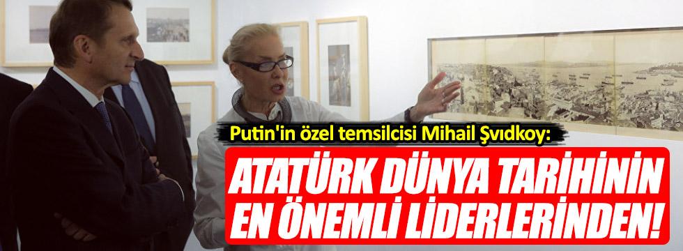 """Rusya'dan """"Atatürk"""" açıklaması"""