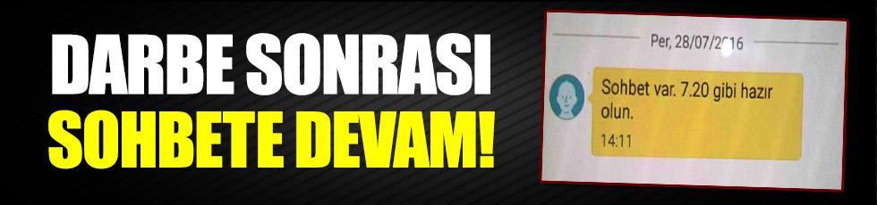 Kalkışmanın ardından Zonguldak'ta FETÖ sohbetleri devam etmiş