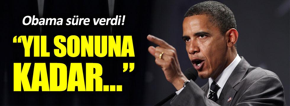 """Obama: """"Yıl sonuna kadar Musul alınacak"""""""
