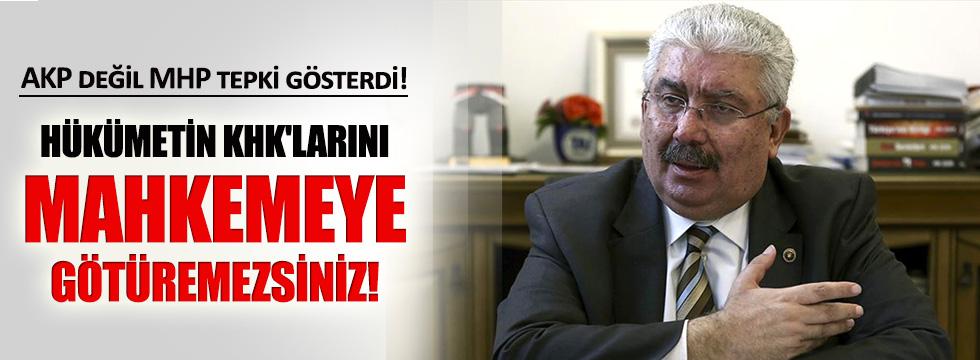 MHP'den CHP'ye kanun hükmünde kararname uyarısı