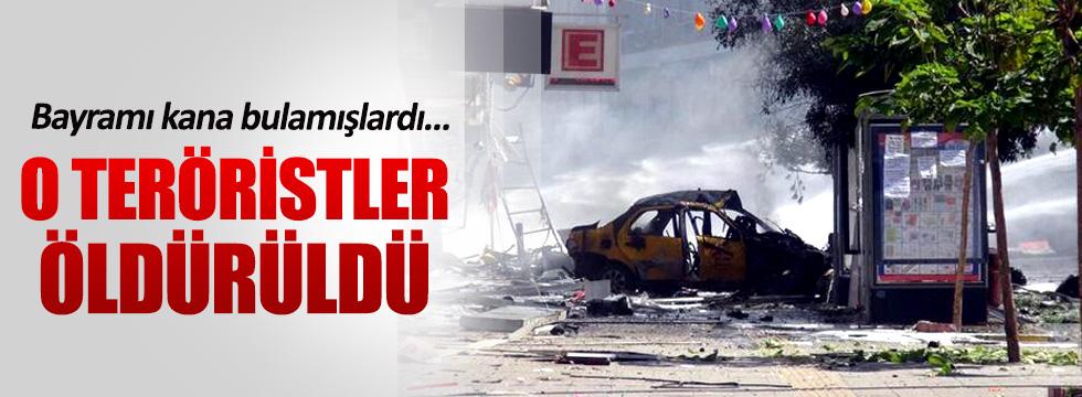 Bayramı kana bulayan teröristler öldürüldü