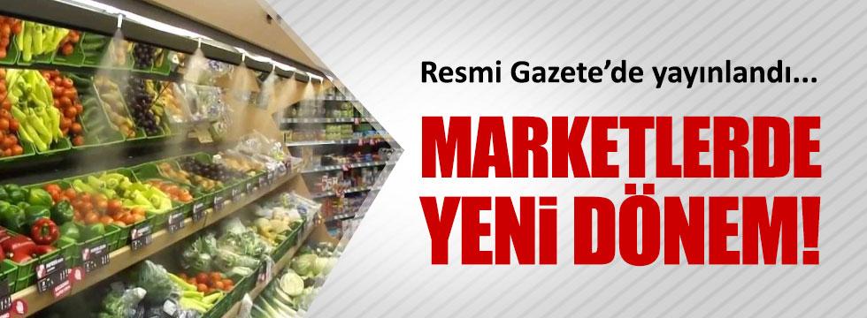 Marketler, sebze-meyvenin alış fiyatını da yazacak