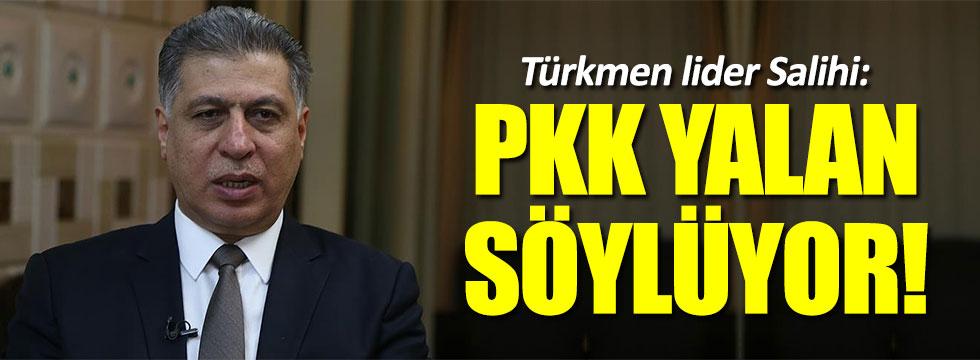 Türkmen Cephesi Başkanı Salihi'den PKK itirafı