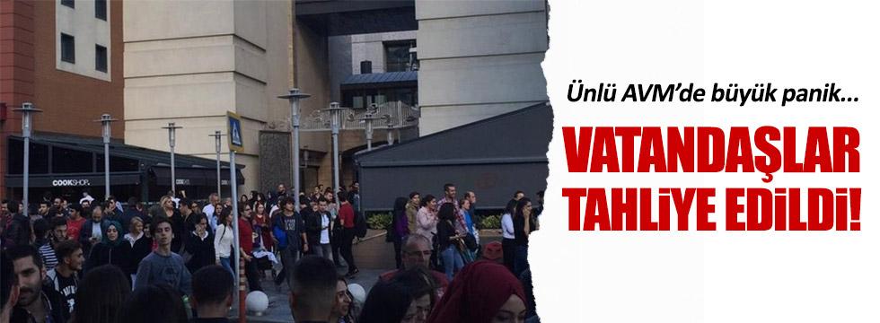 Bayrampaşa'daki AVM'de büyük panik