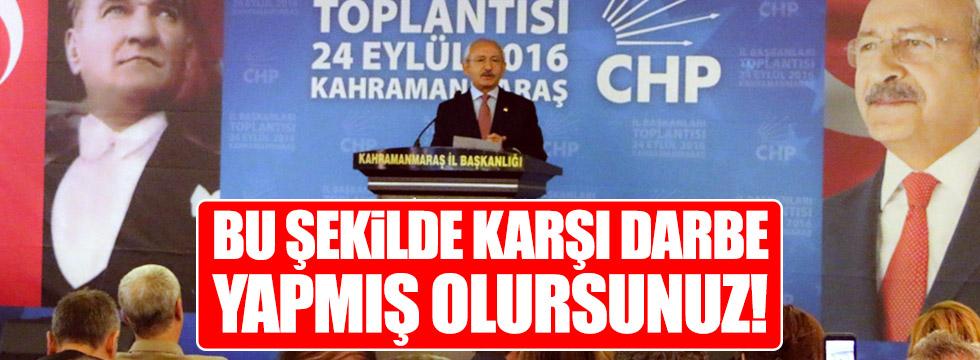 Kılıçdaroğlu KHK'ları eleştirdi
