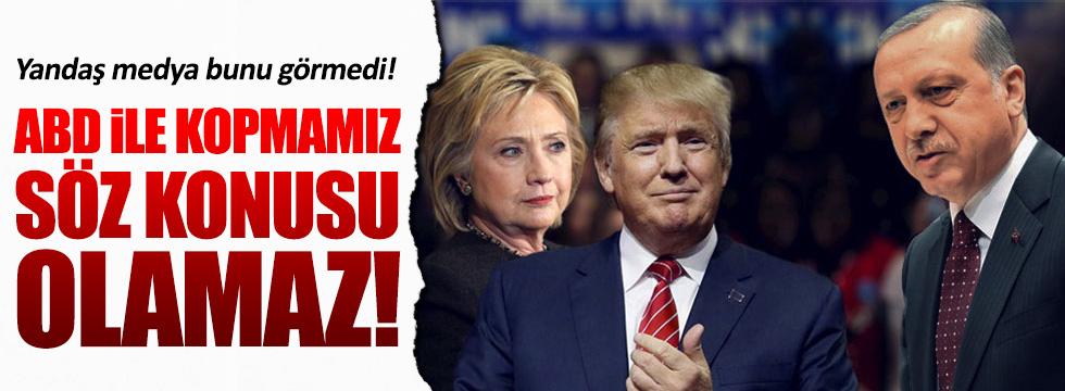 Erdoğan, ABD'deki başkanlık seçimiyle ilgili yorum yaptı