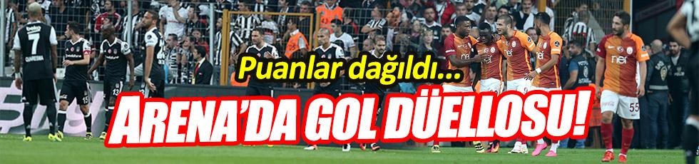 Beşiktaş ve Galatasaray yenişemedi