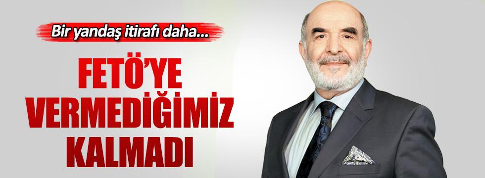 Star yazarı Ahmet Taşgetiren'den FETÖ itirafı