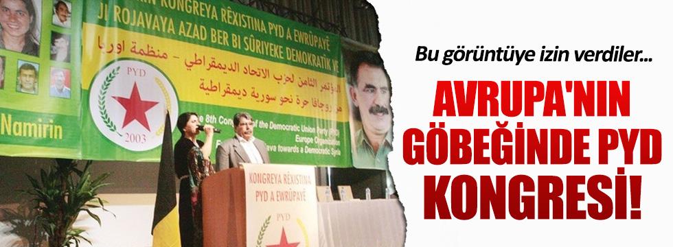 Brüksel'de PYD kongresi!