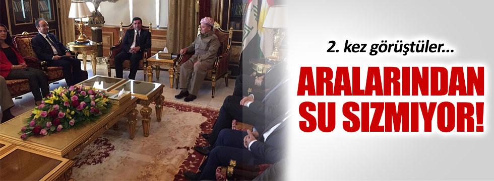 Demirtaş, Barzani ile 2.kez görüştü