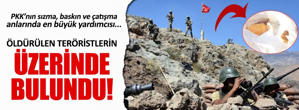 Çukurca'da öldürülen PKK'lılarda 'kristal hap' çıktı