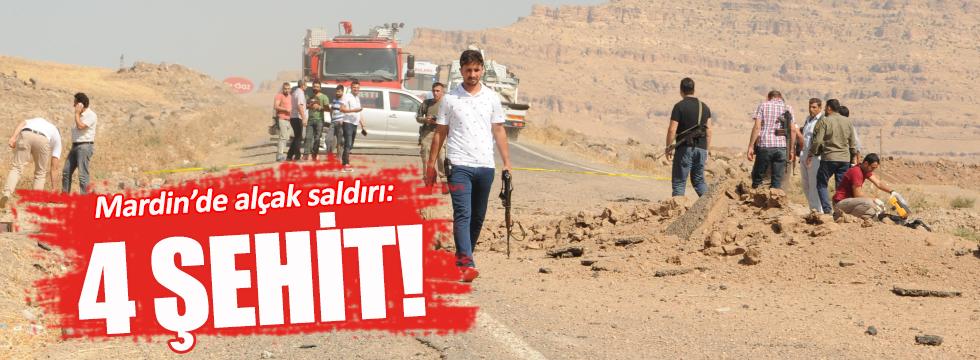 Mardin Derik'te patlama: 4 şehit
