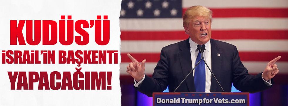 Trump'tan başkent  'Kudüs' sözü