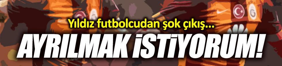 Hamit Altıntop Galatasaray'dan ayrılmak istiyor