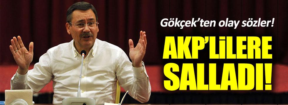 Melih Gökçek AKP'yi hedef aldı