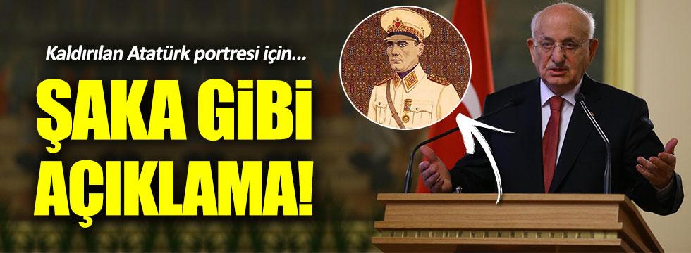TBMM Başkanı Kahraman'dan skandal 'Atatürk portresi' açıklaması