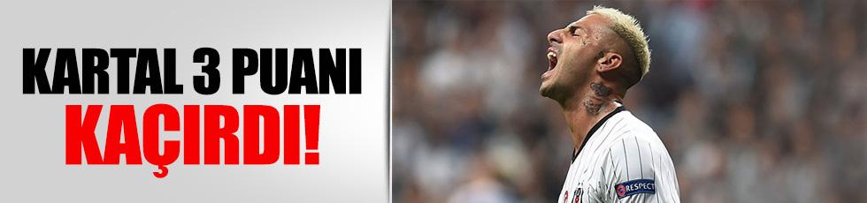 Beşiktaş - Dinamo Kiev: 1-1