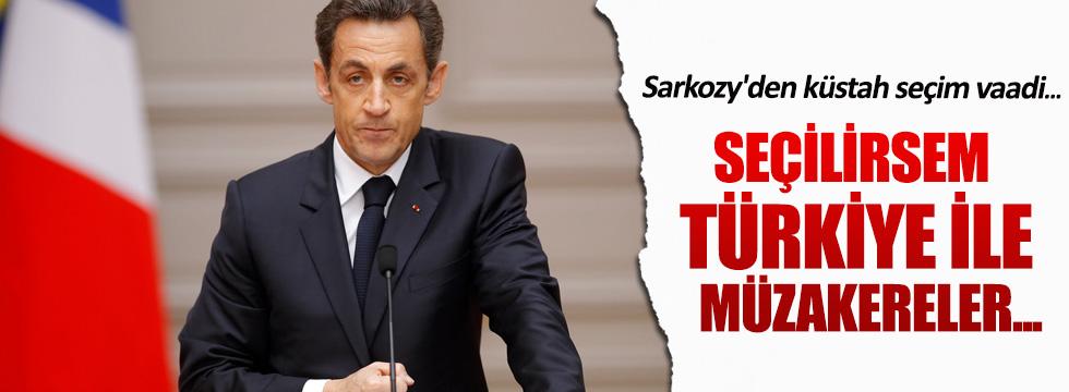 Sarkozy'den küstah seçim vaadi