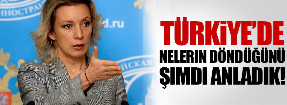 Zaharova'dan Türkiye açıklaması