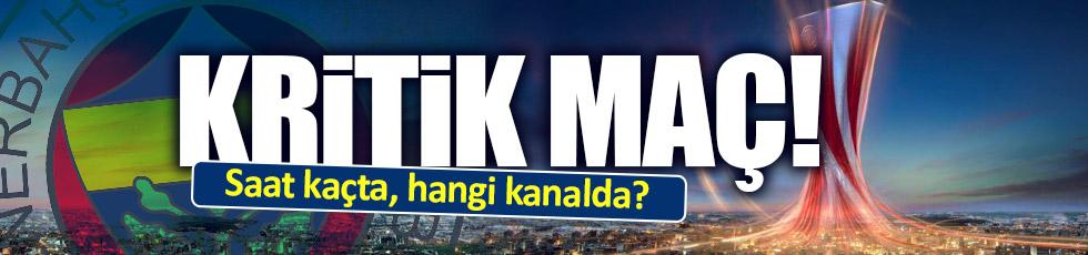 Fenerbahçe-Feyenoord maçı saat kaçta, hangi kanalda?