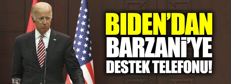 Biden'dan, Barzani'ye destek telefonu