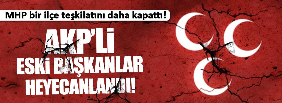 MHP Finike Teşkilatını kapattı