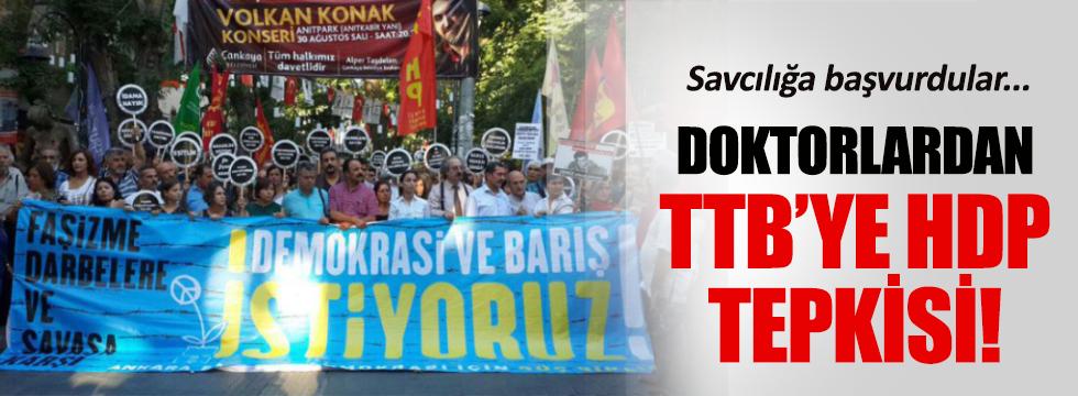 TTB-HDP ittifakı için savcılığa başvuruldu