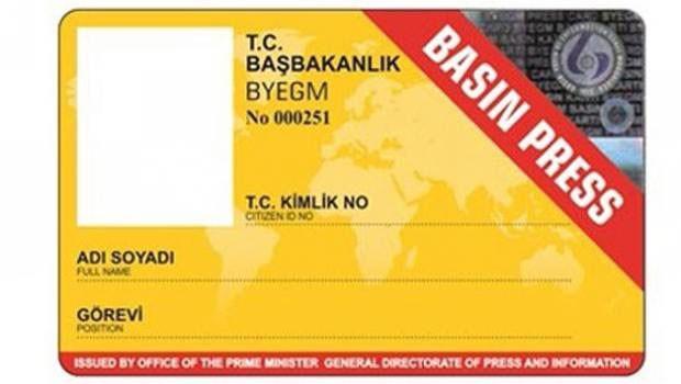 Basın kartı komisyonu toplanıyor