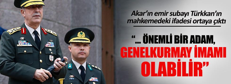 Levent Türkkan'ın mahkemedeki ifadesi ortaya çıktı