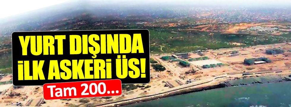 Somali'de Türk askeri üssü