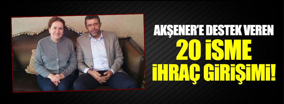 MHP'den Akşener'i destekleyen Ülkücülere ihraç istemi