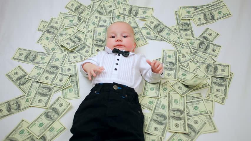 Bebeğe 1 milyon dolarlık ikramiye