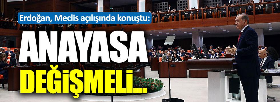Meclis 42 gün sonra açıldı