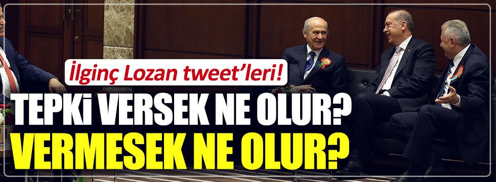 Devlet Bahçeli'den ilginç 'Lozan' tweet'leri