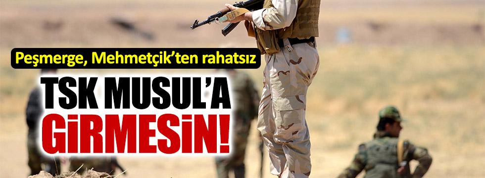 Peşmerge, TSK'yı Musul'da istemiyor