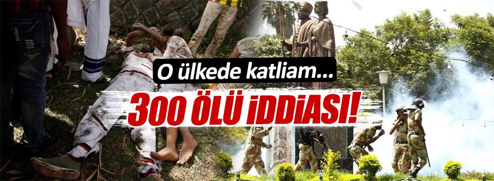 Etiyopya'da katliam