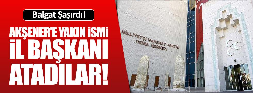 MHP Aydın teşkilatına Burak Pehlivan atandı