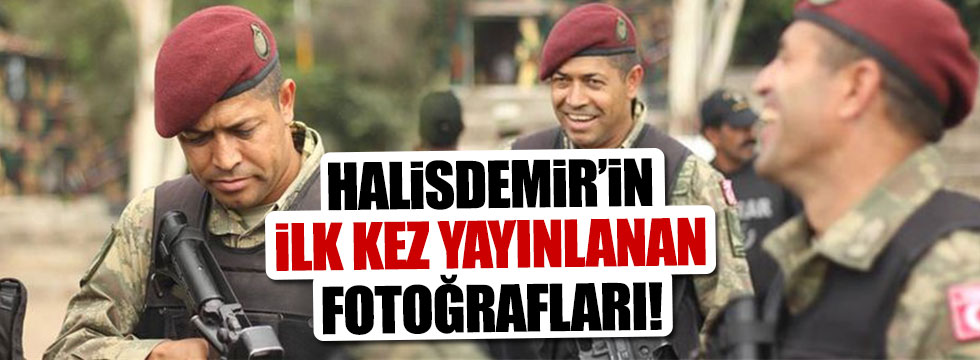 Şehit Halisdemir'in hiç bilinmeyen o fotoğrafları