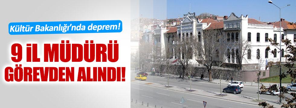 Kültür ve Turizm Bakanlığı'na operasyon yapıldı