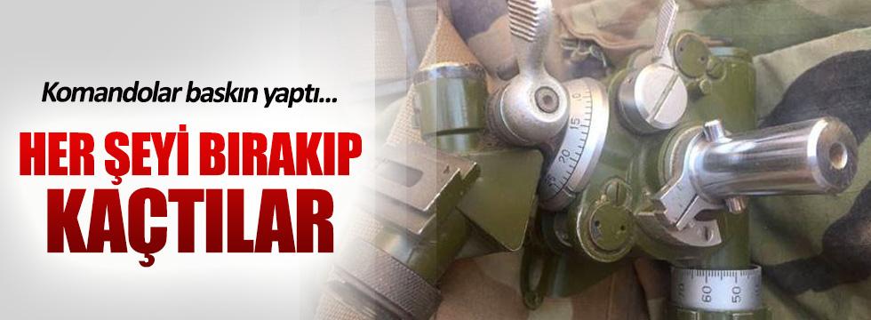 PKK'lılar her şeyini bırakarak Kuzey Irak'a kaçtı