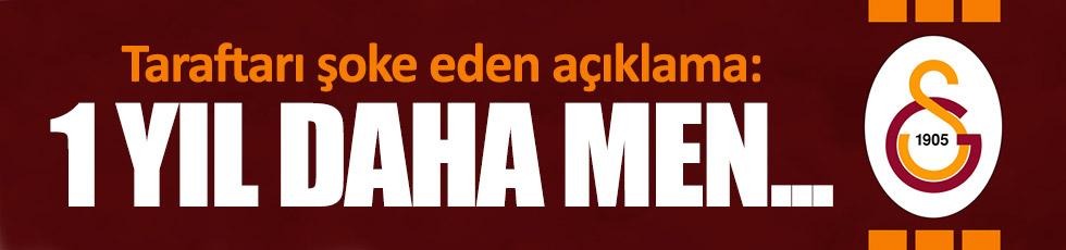 """""""Galatasaray Avrupa'dan 1 yıl daha men edilecek"""""""