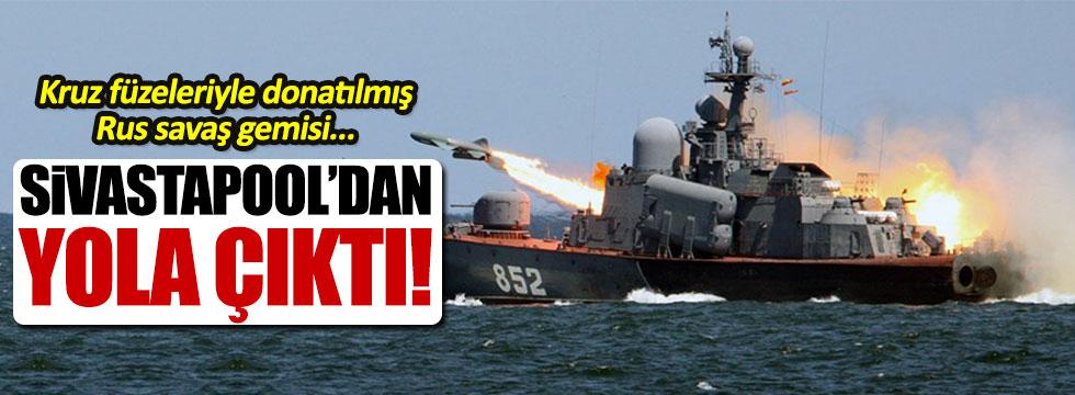 Rus savaş gemisi 'Miraj' Suriye yolcusu