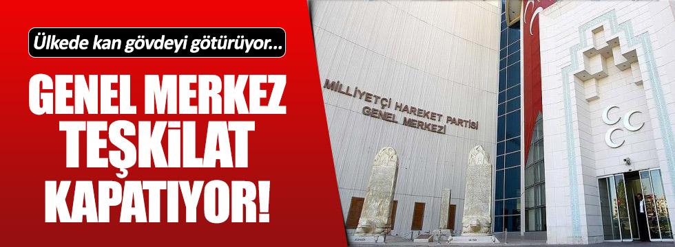 MHP Korkuteli teşkilatı kapatıldı