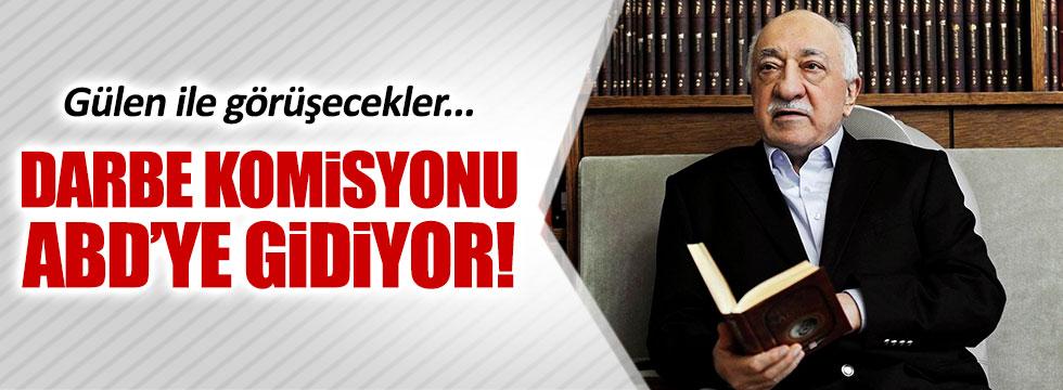 Darbe heyeti Gülen'le görüşmek üzere ABD'ye gidecek