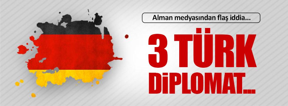 Üç Türk diplomat Almanya'ya iltica talebinde bulundu!