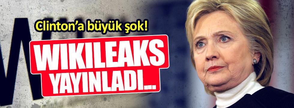 Wikileaks Clinton belgelerini yayınladı