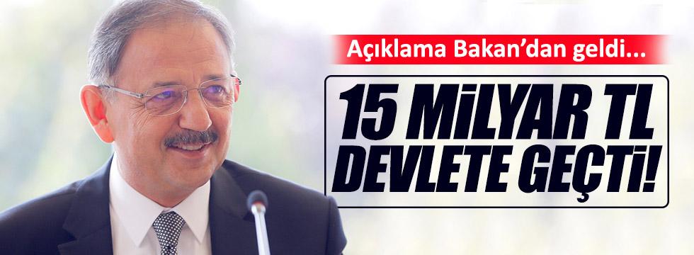 """""""FETÖ'nün 15 milyar liralık taşınmazı devlete geçti"""""""