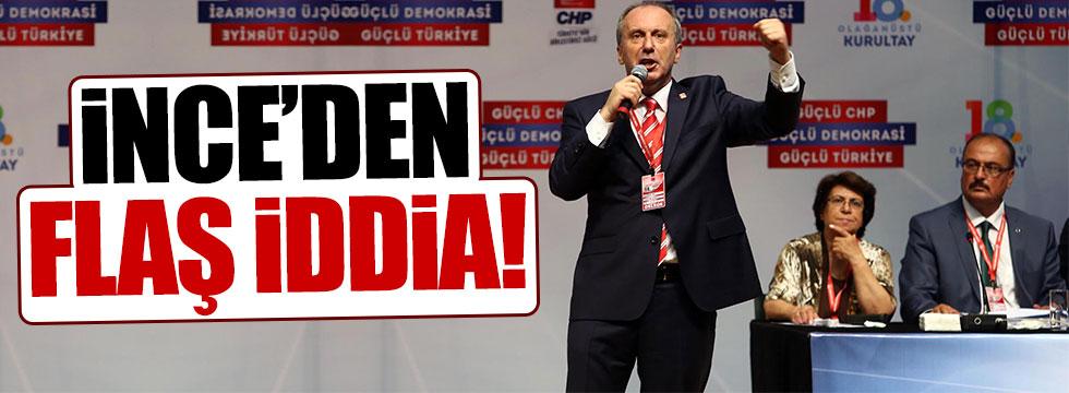 Muharrem İnce: AKP, Gülen'in iadesini istemiyor