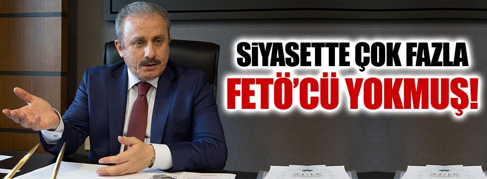 AKP'li Şentop'tan ilginç FETÖ açıklaması