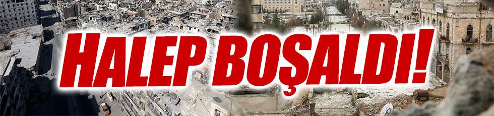 Halep'te 350 bin kişi kaldı!